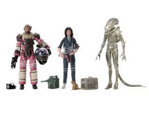 Neca Alien 40th Anniversary Figura Set (3) Action Figure
