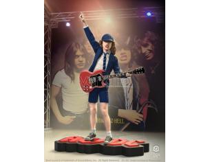 KNUCKLEBONZ ROCK ICONZ AC DC ANGUS YOUNG II STATUE STATUA