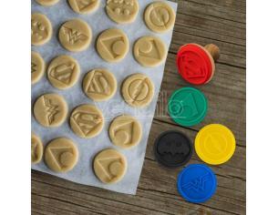 Cinereplicas Justice League Logo Cookie Stampini Set Stampo