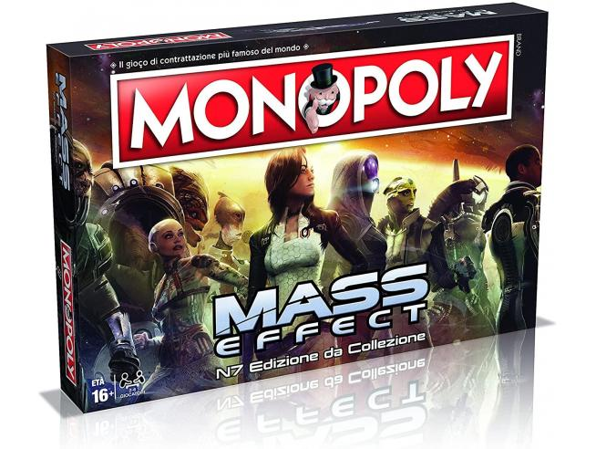 Monopoly Mass Effect Edizione da Collezione Gioco Tavolo Italiano Winning Moves