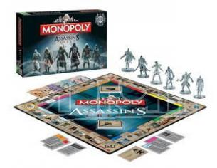 Monopoly Assassin's Creed Gioco da Tavolo Versione Italiana Winning Moves