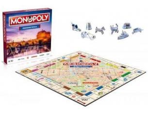 Monopoly Edizione Citta' di Roma Gioco da Tavolo Versione Italiana Winning Moves