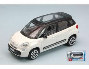 BBURAGO BU30271W FIAT 500L 2012 WHITE 1:43 Modellino