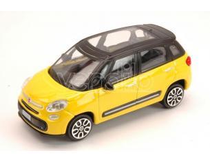 BBURAGO BU30271Y FIAT 500L 2012 YELLOW 1:43 Modellino