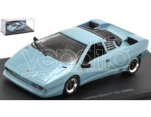 EDITORIA JT65 LAMBORGHINI P 132 1986 LIGHT BLUE 1:43 Modellino