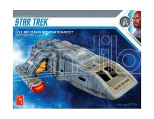 AMT STAR TREK DS9 RIO GRANDE RUNABOUT MK MODEL KIT