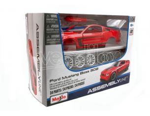 Maisto MI39269 FORD MUSTANG BOSS 302 2012 KIT 1:24 Modellino