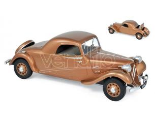 Norev NV181441 CITROEN TRACTION AVANT 11 B COUPE 1938 BROWN 1:18 Modellino