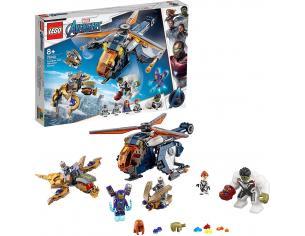 LEGO MARVEL 76144 - AVENGERS: HULK SALVATAGGIO IN ELICOTTERO