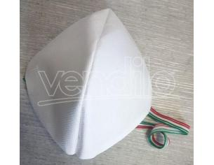 Mascherina protettiva set da 5 pezzi in Cotone (NO DPI) Bianca Riutilizzabile