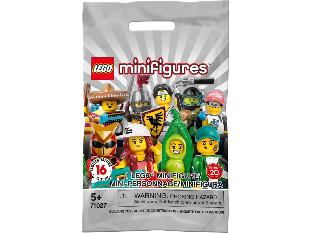 LEGO MINIFIGURES 71027 - MINIFIGURES SERIE 2020