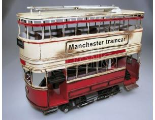 Timplate Regalo's Tpgjlbs1236-ry Manchester Tramcar Red & Yellow 1903 Cm 35 Modellino