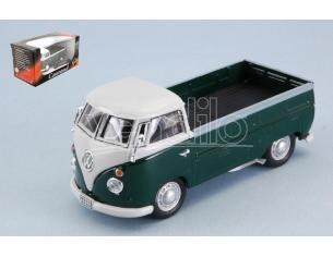 CARARAMA CA251PND4G VW T1 PICK UP 1960 GREEN/WHITE 1:43 Modellino