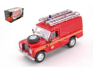 CARARAMA CA251XND11 LAND ROVER SERIE III 109 FIRE BRIGADE 1:43 Modellino