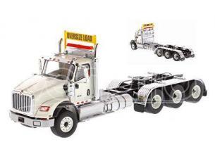 DIECAST MASTER DM71007 HX620 TRIDEM TRACTOR WHITE 1:50 Modellino