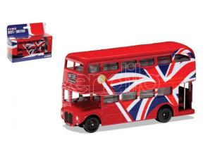 CORGI GS82336 CORGI BEST OF BRITISH LONDON BUS UNION JACK mm 123 1:64 Modellino