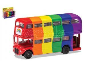 Corgi Gs82337 London Bus Raimbow Peace E Love 1:64 Modellino