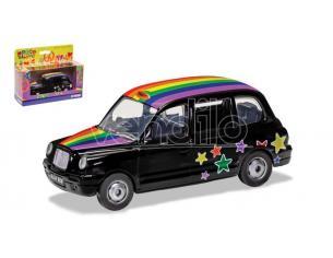 Corgi Gs85929 Peace E Love London Taxi Raimbow Mm 128 1:36 Modellino