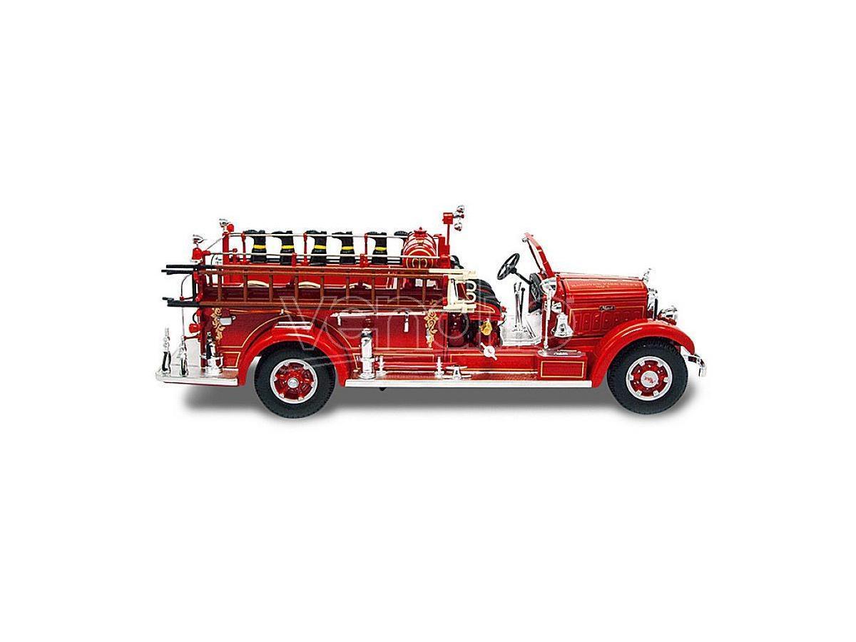 LUCKY DIE CAST LDC20098R MACK TYPE 75 BX FIRE TRUCK 1935 1:24 Modellino