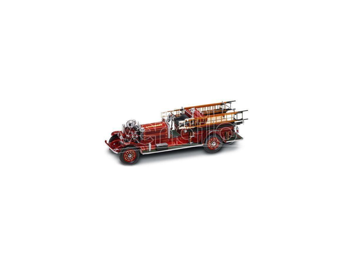 LUCKY DIE CAST LDC20108 AHRENS FOX 1925 FIRE TRUCK 1:24 Modellino