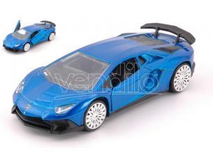 Jada Toys Jada30109bl Lamborghini Aventador Sv Metallolic Blue Cm 12,5 Modellino