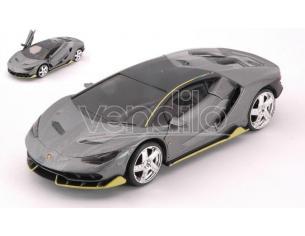 Jada Toys Jada99401gy Lamborghini Centenario Metallolic Grey Cm 12,5 Modellino