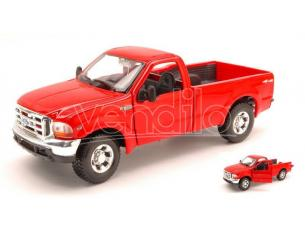 MAISTO MI31937 FORD F-350 SUPER DUTY PICK UP 1999 RED 1:27 Modellino