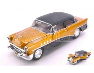 MAISTO MI32507G BUICK CENTURY 1955 OUTLAWS GOLD/BLACK 1:26 Modellino