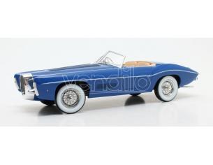 MATRIX SCALE MODELS MXL0205-021 BUGATTI T101C EXNER GHIA 1966 BLUE 1:18 Modellino