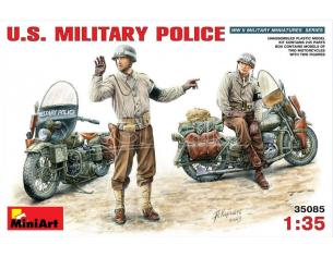MINIART MIN35085 U.S. MILITARY POLICE KIT 1:35 Modellino
