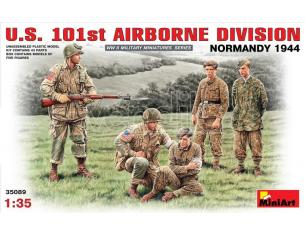 MINIART MIN35089 U.S. 101st AIRBORNE DIVISION NORMANDY 1944 KIT 1:35 Modellino
