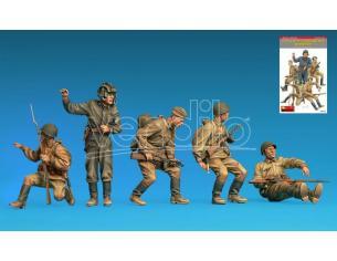MINIART MIN35281 SOVIET SOLDIERS RIDERS KIT 1:35 Modellino