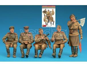 MINIART MIN35313 SOVIET JEEP CREW SPECIAL EDITION KIT 1:35 Modellino