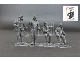 MINIART MIN37037 SOVIET TANK CREW 1960-70s KIT 1:35 Modellino