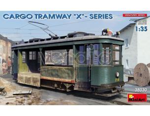MINIART MIN38030 CARGO TRAMWAY X SERIES KIT 1:35 Modellino