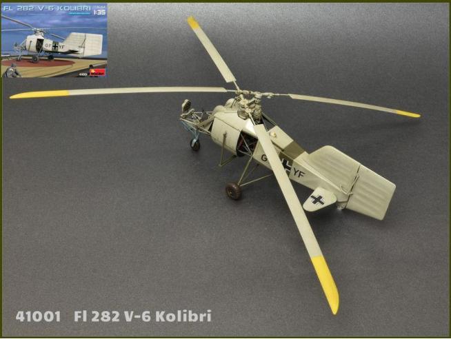 MINIART MIN41001 FL 282 V-6 KOLIBRI KIT 1:35 Modellino