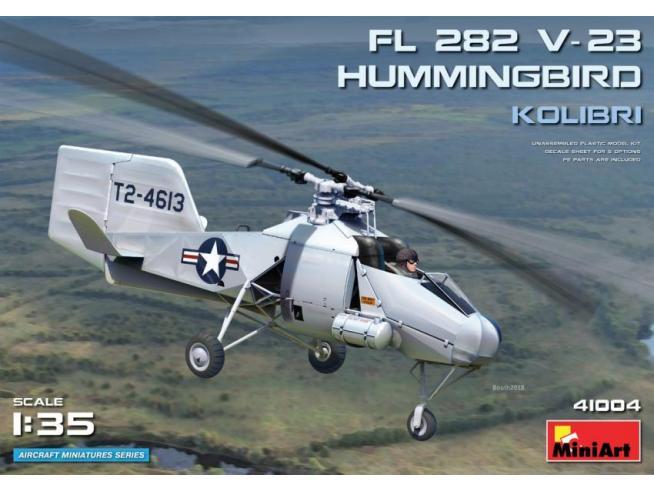 MINIART MIN41004 FI 282 V-23 HUMMINGBIRD KOLIBRI KIT 1:35 Modellino