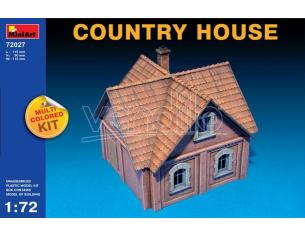 MINIART MIN72027 COUNTRY HOUSE KIT 1:72 Modellino