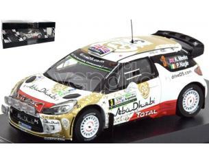 EDITORIA RD16 CITROEN DS3 WRC N.3 ARGENTINA MEEKE-NAGLE 1:43 Modellino