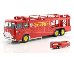 NOREV NV187701 FIAT BARTOLETTI 306/2 FERRARI JCB 1970 1:18 Modellino