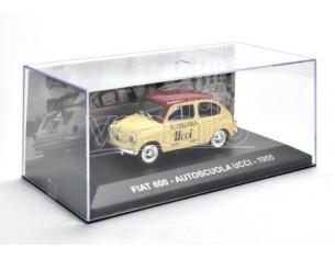 EDITORIA PE000 FIAT 600 AUTOSCUOLA UCCI 1955 1:43 Modellino