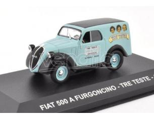 EDITORIA PE066 FIAT 500 A FURGONCINO TRE TESTE 1948 1:43 Modellino