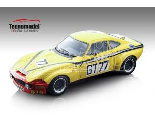 TECNOMODEL TMD18133D OPEL GT 1900 N.77 WINNER GT2 1000 KM NURBURGRING 1972 CRIST.-J.RAGNOTTI Modellino
