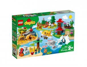 LEGO DUPLO 10907 - ANIMALI DEL MONDO