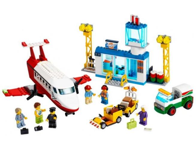LEGO CITY 60261 - AEROPORTO CENTRALE