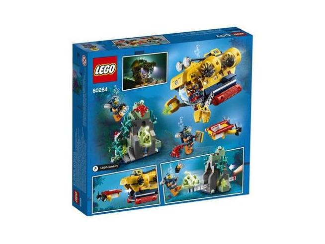 LEGO CITY 60264 - SOTTOMARINO DA ESPLORAZIONE OCEANICA