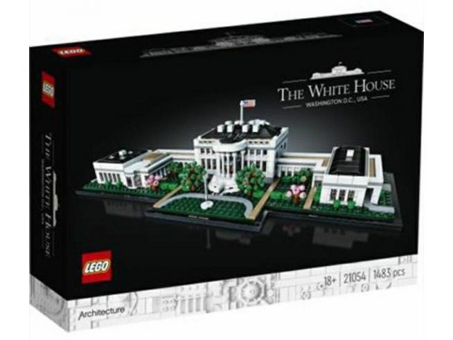 LEGO ARCHITECTURE 21054 - WHITE HOUSE: CASA BIANCA