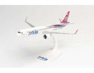 HERPA HP612524 AIRBUS A321LR ARKIA ISRAELI AIRLINES cm 22 1:200 Modellino