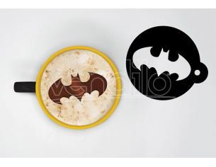PYRAMID INTERNATIONAL BATMAN CAPPUCCINO MUG & STENCIL TAZZA