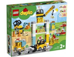 LEGO DUPLO 10933 - CANTIERE EDILE CON GRU A TORRE